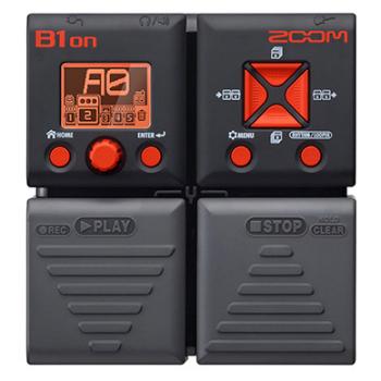 【ZOOM】B1onのレビューや仕様【BassEffectsPedal】