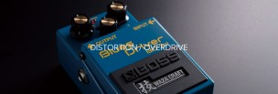 【BOSS】コンパクト(STOMPBOX)一覧【Distortion/OverDrive】