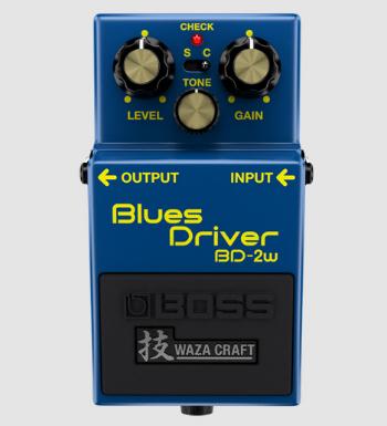 【BOSS】BD-2Wのレビューや仕様【Blues Driver】