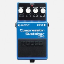 【BOSS】CS-3のレビューや仕様【CompressionSustainer】