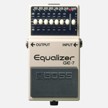 【BOSS】GE-7のレビューや仕様【Equalizer】