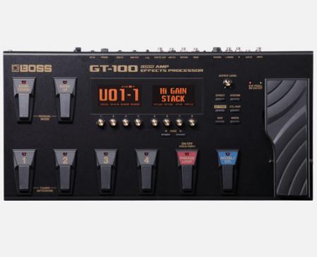 【BOSS】GT-100のレビューや仕様【COSM AmpEffectsProcessor】