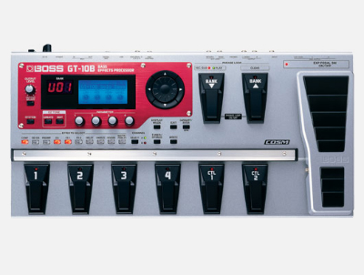 【BOSS】GT-10Bのレビューや仕様【BassEffectsProcessor】