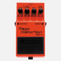 【BOSS】MD-2のレビューや仕様【Mega Distortion】