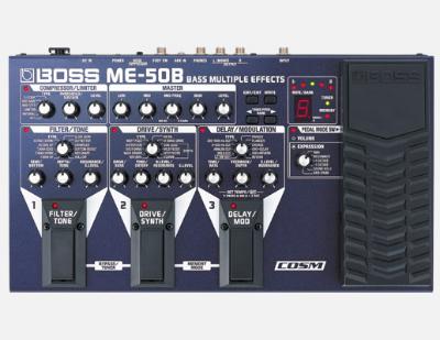 【BOSS】ME-50Bのレビューや仕様【BassMultipleEffects】