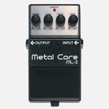 【BOSS】ML-2のレビューや仕様【Metal Core】