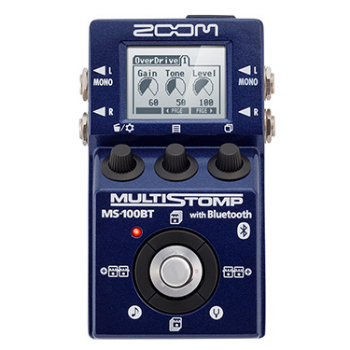 【ZOOM】MS-100BTのレビューや仕様【MultiStompGuitarPedal】