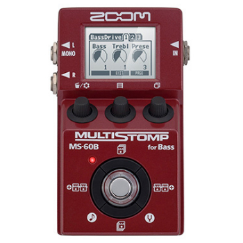 【ZOOM】MS-60Bのレビューや仕様【MultiStompBassPedal】