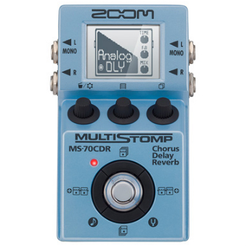 【ZOOM】MS-70CDRのレビューや仕様【MultiStomp】