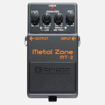【BOSS】MT-2のレビューや仕様【Metal Zone】