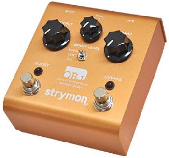 【STRYMON】OB.1のレビューや仕様【Optical Compressor & Clean Boost】