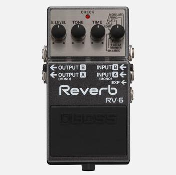 【BOSS】RV-6のレビューや仕様【Reverb】