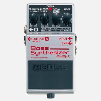 【BOSS】SYB-5のレビューや仕様【BassSynthesizer】