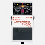 【BOSS】TU-3のレビューや仕様【ChromaticTuner】