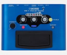 【BOSS】VE-1のレビューや仕様【VocalEcho】