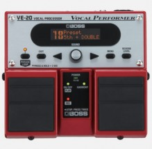 【BOSS】VE-20のレビューや仕様【VocalProcessor】
