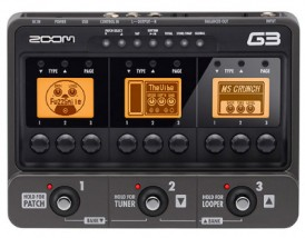 【ZOOM】G3のレビューや仕様【GuitarEffects & Amp SimulatorPedal】