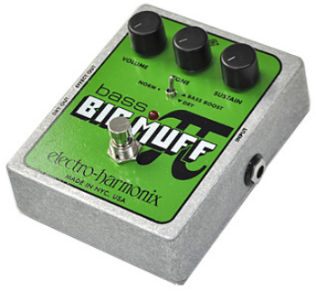 【ELECTRO-HARMONIX】Bass Big Muffのレビューや仕様