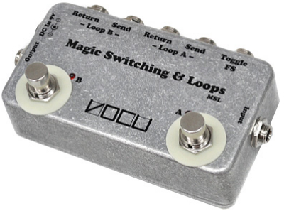 【VOCU】Magic Switching & Loopsのレビューや仕様【MSL】