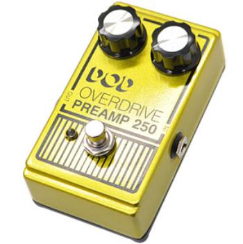【DOD】Overdrive Preamp 250のレビューや仕様