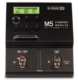 【LINE6】M5 Stompbox Modelerのレビューや仕様