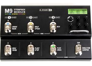 【LINE6】M9 Stompbox Modelerのレビューや仕様