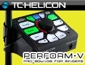 【サウンドハウス】Perform-V登場!TC HELICONボーカルエフェクター!