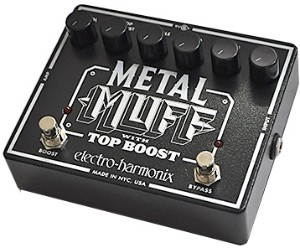 【ELECTRO-HARMONIX】Metal Muffのレビューや仕様