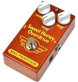【MAD PROFESSOR】Sweet Honey Overdriveのレビューや仕様