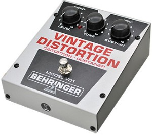 【BEHRINGER】VD1 Vintage Distortionのレビューや仕様