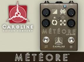 【サウンドハウス】CAROLINE GUITAR COMPANYよりリバーブ「METEORE」が登場!