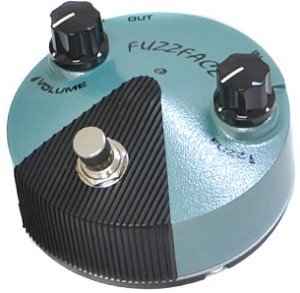 【JIM DUNLOP】FFM3 Fuzz Face Mini Hendrixのレビューや仕様
