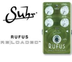 【サウンドハウス】SUHRのFUZZペダル「Rufus Reloaded Pedal」取り扱い開始!