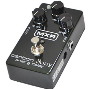 【MXR】[M-169]Carbon Copy Analog Delayのレビューや仕様