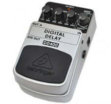 【BEHRINGER】DD400 Digital Delayのレビューや仕様