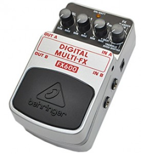 【BEHRINGER】FX600 Digital Multi-fxのレビューや仕様