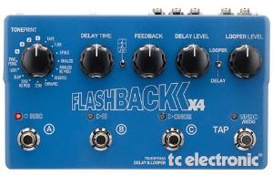 【TC ELECTRONIC】Flashback X4 Delayのレビューや仕様