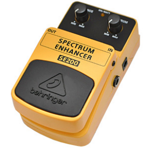 【BEHRINGER】SE200 Spectrum Enhancerのレビューや仕様