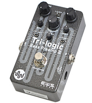 【EWS】Tri-logic Bass Preamp 3のレビューや仕様