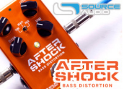 SOURCE AUDIO 「SA246 AFTERSHOCK BASS DISTORTION」