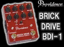 【サウンドハウス】Providenceのベースプリアンプ「BRICK DRIVE BDI-1」が新たに登場!