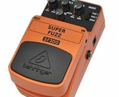 【BEHRINGER】SF300 Super Fuzzのレビューや仕様