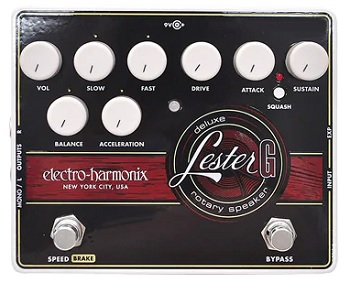 【ELECTRO-HARMONIX】Lester G Deluxe Rotary Speakerのレビューや仕様