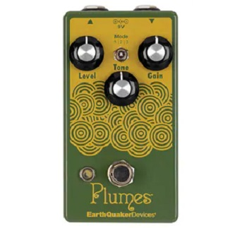 【EARTHQUAKER DEVICES】Plumes Overdriveのレビューや仕様