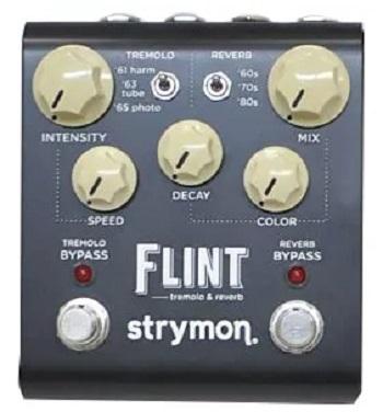 【STRYMON】FLINT トレモロ&リバーブのレビューや仕様