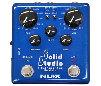 【NUX】Solid Studio IR & パワーアンプシミュレーターのレビューや仕様